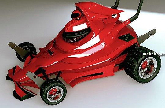Газонокосилки в стиле Formula 1