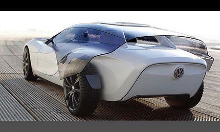 Студент разработал концепт-кар Volkswagen Viseo