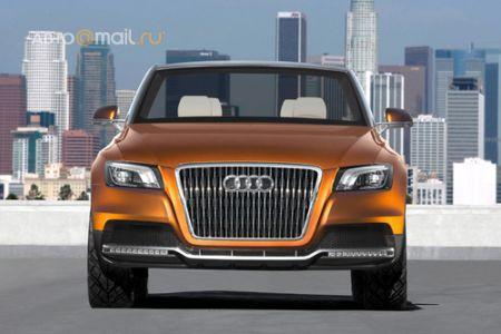Audi показала внедорожный кабриолет