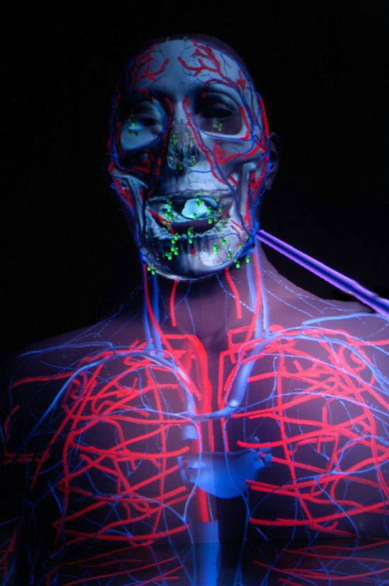 CAVEman – медицинская система 4D-голограмм