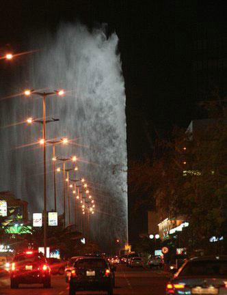Самый высокий фонтан в мире