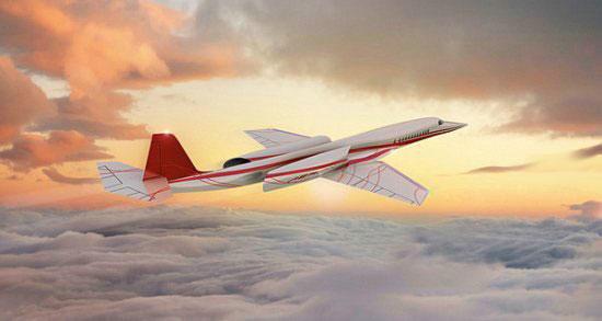 Aerion – первый частный сверхзвуковой самолет