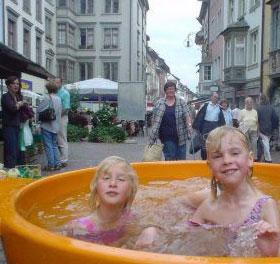 Мобильная ванна от Dutchtub