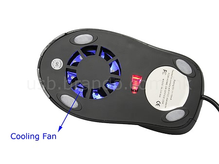 OptiWind — мышь с вентилятором и подсветкой