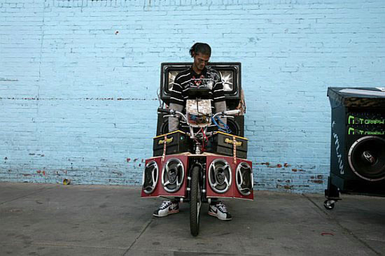 Музыкальные системы на колесах