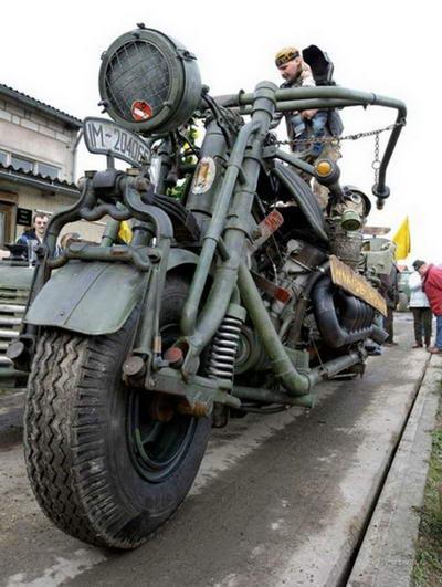 Мотоцикл-монстр: самый тяжелый в мире