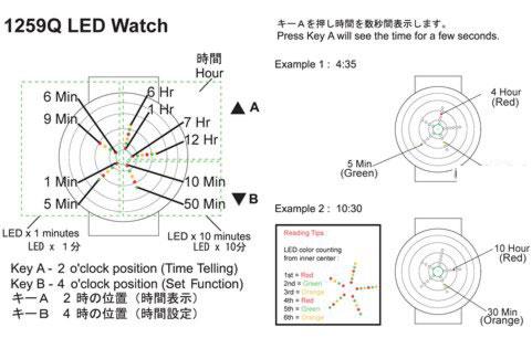 Часы-головоломка от Tokyo Flash