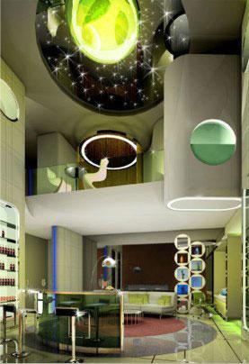 The Pad – потрясающий жилой дом в Эмиратах