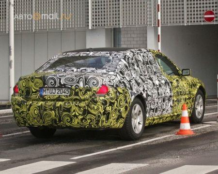 BMW испытывает психоделическую семерку