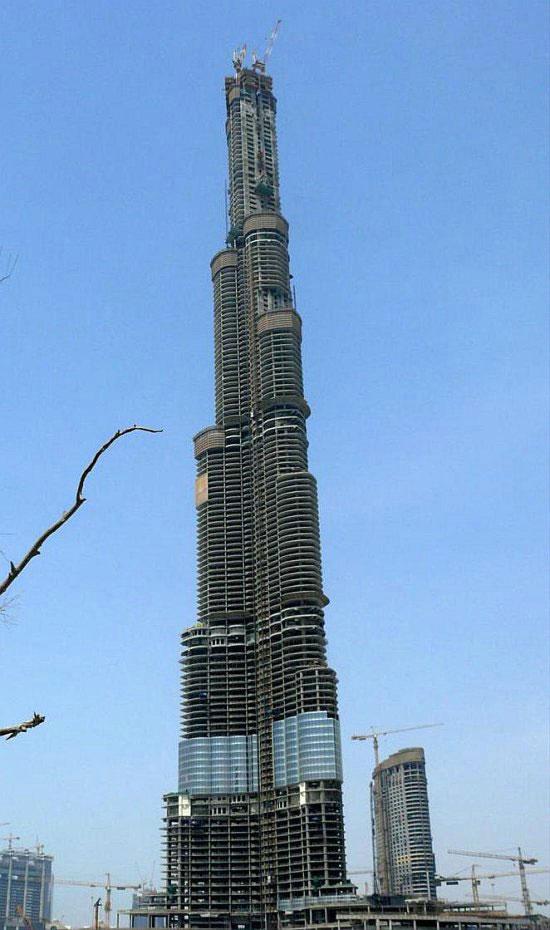Burj Dubai – самое высокое здание в мире