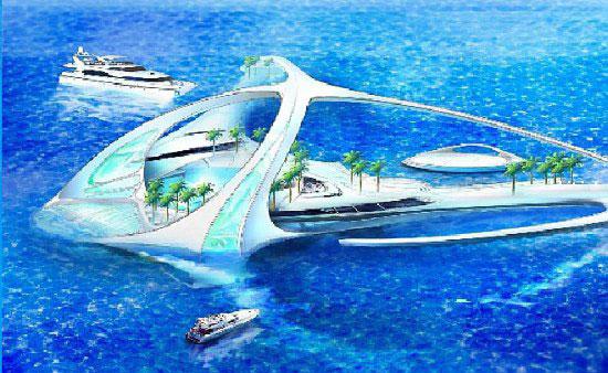Подводный гостиничный комплекс Hydropolis