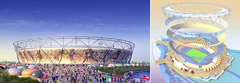 Олимпийский стадион 2012 года