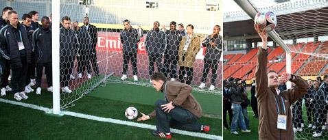На Кубке мира дебютировал электронный мяч