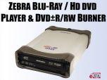 Внешний привод Zebra: Blu-ray/HD DVD за $400