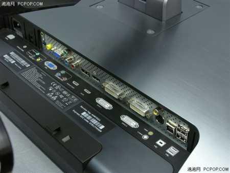 Dell 3008WFP: монитор с интерфейсом DisplayPort