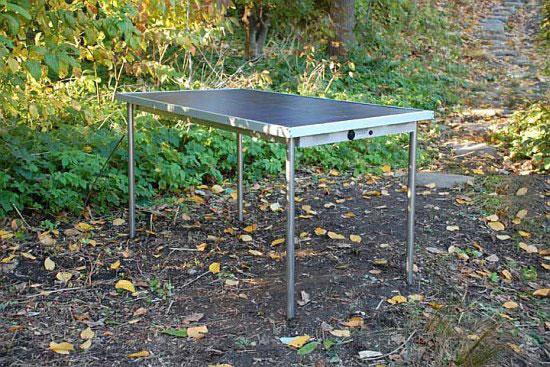 Sun Table – стол на солнечных батареях