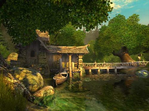 Watermill 3D Screensaver 2.0 Build 4