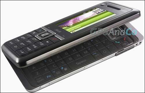 Коммуникатор ASUS M930W в стиле Nokia E90
