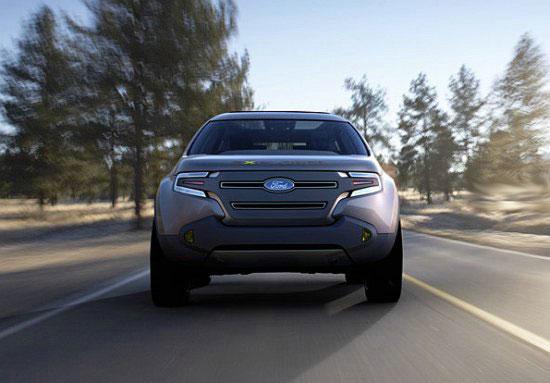 Мощный концепткар Ford Explorer America