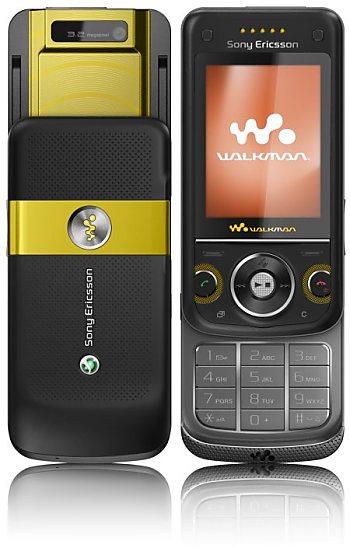 Телефон Sony Ericsson W760 с навигацией