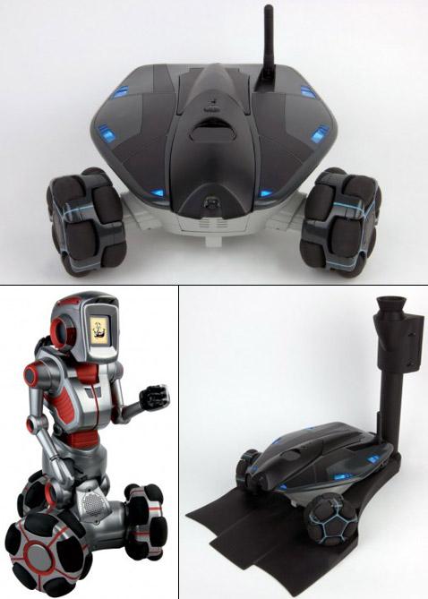 Создан недорогой робот-охранник