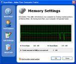 SuperRam 5.1.14.2008 - работа с памятью компьютера