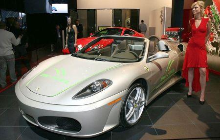 Ferrari представляет зеленый концепт 430 Spider