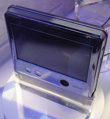 Toshiba показала UMPC на топливных элементах
