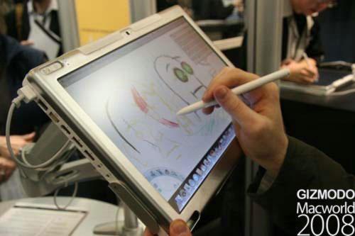 Axiotron ModBook – первый планшетник на базе Mac OS Х