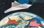 С космической станции запустят бумажный самолет