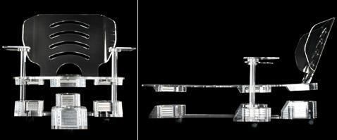 Создано кресло с магнитной левитацией