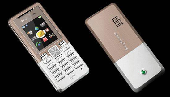 Sony Ericsson T270 и T280 – телефоны-близнецы