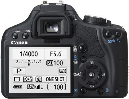 EOS 450D: любительская версия от Canon
