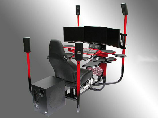 Компьютерные столы V1 – современно, комфортно, дорого