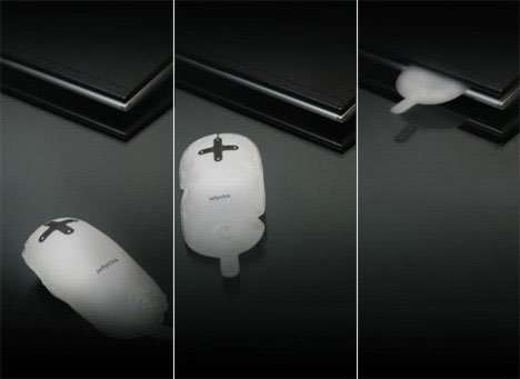 Надувная мышка для ноутбуков