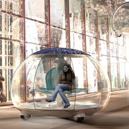Городской транспорт будущего – интересный концепт