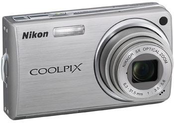 Камеры Nikon COOLPIX S600, S550, S520 и S210