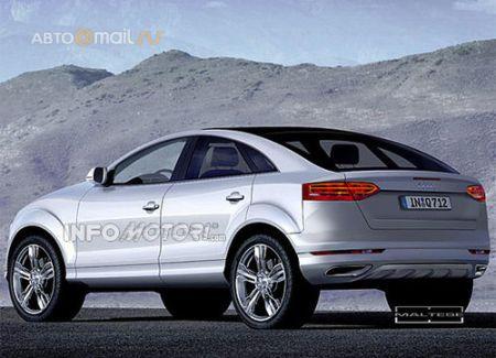 Audi готовит модель Q6