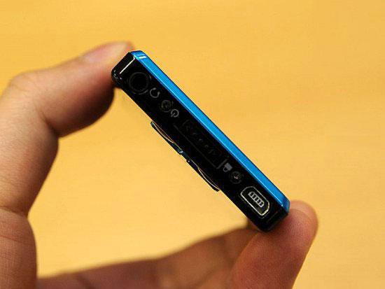 Gigabeat T802 – новый 8 Гб плеер с поддержкой Wi-Fi