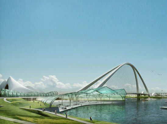 В Дубае построят самый большой арочный мост