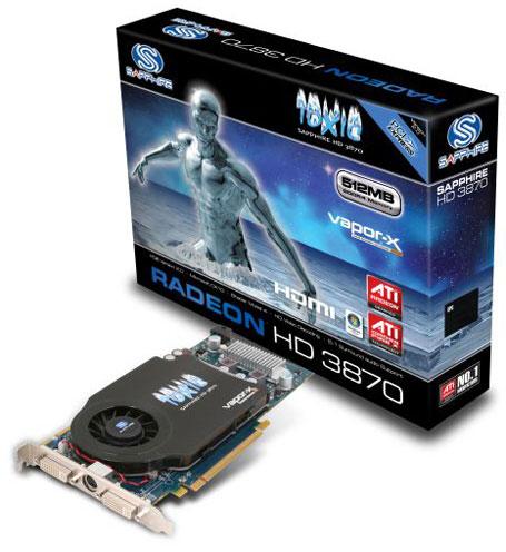 Sapphire Radeon HD 3870 - продолжение серии TOXIC