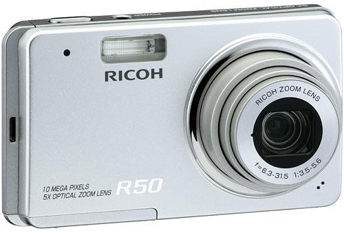 Пара новинок от Ricoh R8 и R50 с разрешением 10 Мп