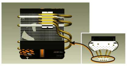 Nexus HOC-9000: инновационный CPU кулер