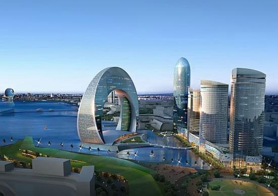 В Баку построят необычные небоскребы