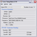 Core Temp 0.97 - температура процессора