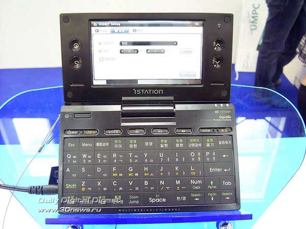UMPC М704 от Gigabyte