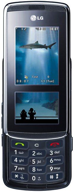 Сенсорный LG KF600 поступил в продажу