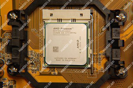 Фото дня: процессор AMD Phenom 9100e