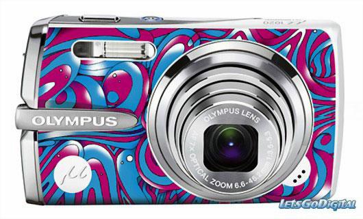 Нестандартный фотоаппарат Olympus Mju 1020