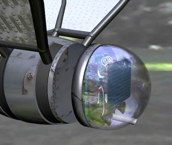 Военный концепт робот-шпион COM-BAT